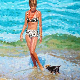 "Sylvia Rhone 24""w x 36""w (60.96cm x 91.44cm)"