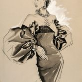 Promo for  evening wear