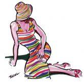 Promo sketch - Stripes