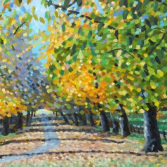 "Autumn Leaves print 20""h x 32""w (50.8cm x 81.28cm)"